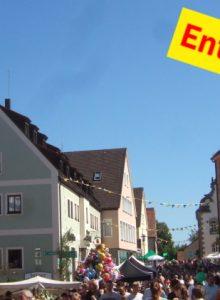 Stadtfest  in Hilpoltstein (entfällt!)